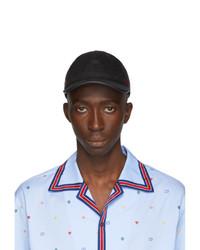 schwarze Baseballkappe von Gucci