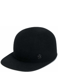 schwarze Baseballkappe von Maison Michel