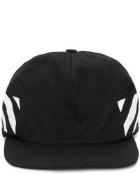 schwarze Baseballkappe von Off-White