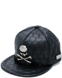 schwarze Baseballkappe von Philipp Plein