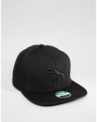 schwarze Baseballkappe von Puma