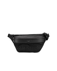schwarze Bauchtasche von Dolce & Gabbana