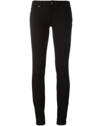 schwarze enge Jeans aus Baumwolle von Burberry