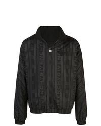 schwarze bedruckte Bomberjacke von Givenchy