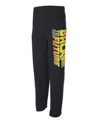 modische schwarze bedruckte jogginghose für herren für herbst 2021 kaufen | lookastic