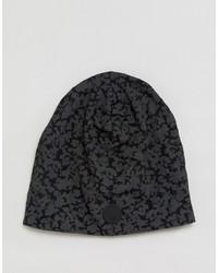 schwarze bedruckte Mütze von G Star