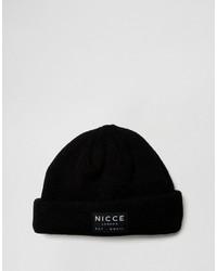 schwarze bedruckte Mütze