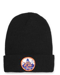 schwarze bedruckte Mütze von PASADENA LEISURE CLUB