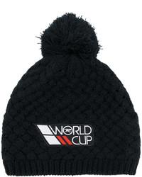 schwarze bedruckte Mütze von Rossignol