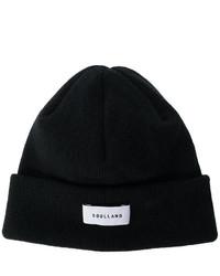 schwarze bedruckte Mütze von Soulland
