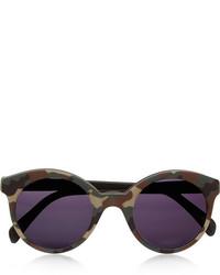 schwarze bedruckte Sonnenbrille von Illesteva