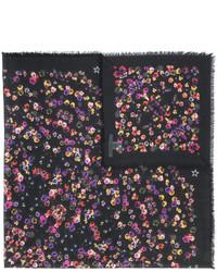 schwarze bedruckte Stola von Givenchy