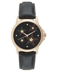 schwarze bedruckte Uhr von Even&Odd