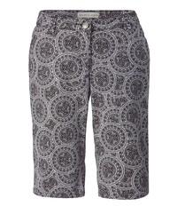 schwarze Bermuda-Shorts von Janet und Joyce by Happy Size