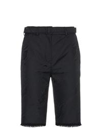 schwarze Bermuda-Shorts von Off-White