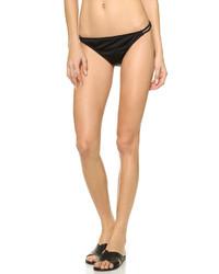 schwarze Bikinihose mit Ausschnitten von Milly