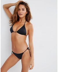 Schwarze Bikinihose von Asos