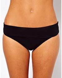 schwarze Bikinihose von Calvin Klein