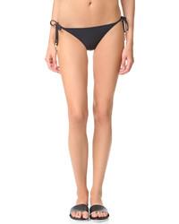 schwarze Bikinihose von Stella McCartney