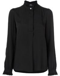 schwarze Bluse von A.P.C.