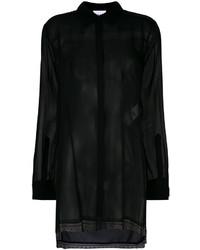 schwarze Bluse von DKNY