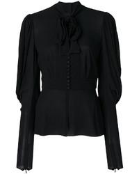 schwarze Bluse von Dolce & Gabbana