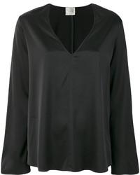 schwarze Bluse von Forte Forte