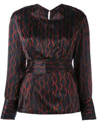 schwarze Bluse von Isabel Marant