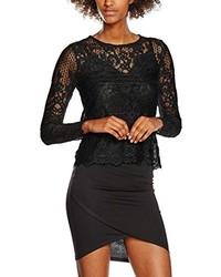 schwarze Bluse von New Look