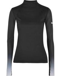 schwarze Bluse von Nike