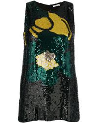 schwarze Bluse von P.A.R.O.S.H.