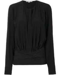 schwarze Bluse von Stella McCartney