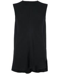 schwarze Bluse von Victoria Beckham