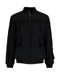 schwarze Bomberjacke von Brooklyn's Own by Rocawear