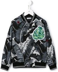 schwarze Bomberjacke von Dolce & Gabbana