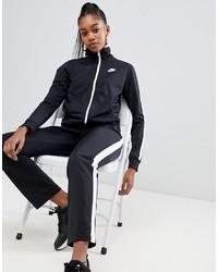 schwarze Bomberjacke von Nike