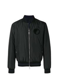 schwarze Bomberjacke von Versace Collection