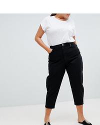 schwarze Boyfriend Jeans von Asos Curve