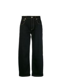 schwarze Boyfriend Jeans von Carven