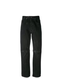 schwarze Boyfriend Jeans von Christopher Kane