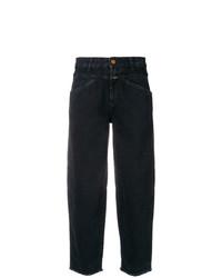 schwarze Boyfriend Jeans von Closed