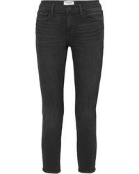 schwarze Boyfriend Jeans von Frame