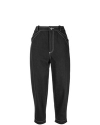 schwarze Boyfriend Jeans von Nehera