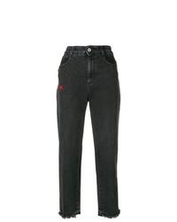 schwarze Boyfriend Jeans von Stella McCartney
