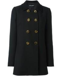 schwarze Cabanjacke von Dolce & Gabbana
