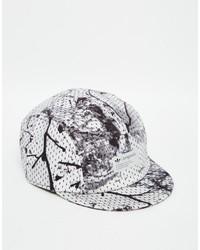 schwarze Camouflage Baseballkappe von adidas