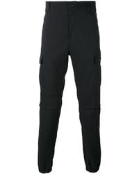 schwarze Cargohose von adidas