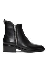schwarze Chelsea Boots aus Leder von 3.1 Phillip Lim