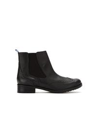schwarze Chelsea Boots aus Leder von Blue Bird Shoes