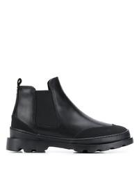 schwarze Chelsea Boots aus Leder von Camper